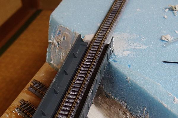 ガーダー橋 橋台 作成過程 #5
