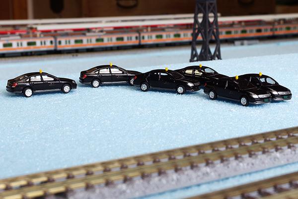 THE カーコレクション 第 15弾 (226) 日産ティアナ 黒(個人タクシー)