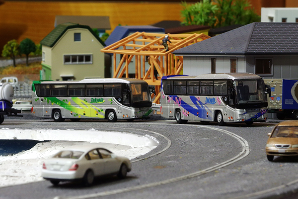 [★ KYOSHO 1/150 SCALE DIE-CAST BUS SERIES 022-1・022-2 ]