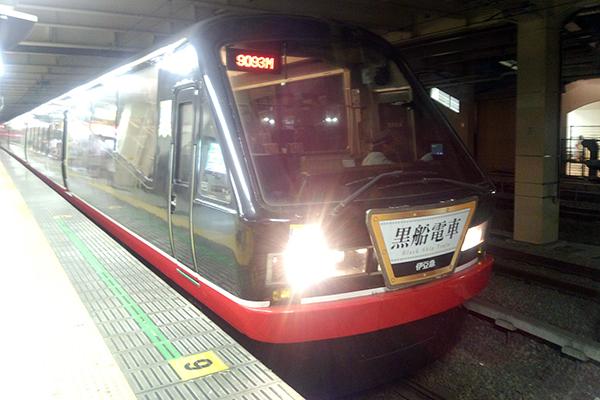伊豆急2100系・4次車「リゾート21EX」黒船電車 立川駅 8番線
