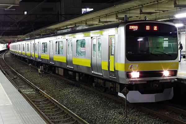 [★ 中央・総武緩行線 E231系0番台 立川駅]
