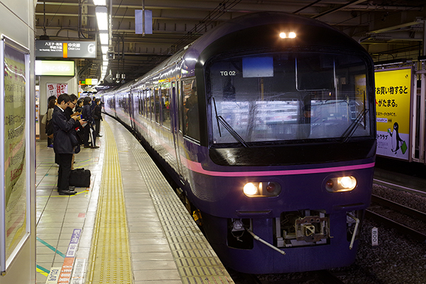 485系 お座敷電車 華 立川駅3番線