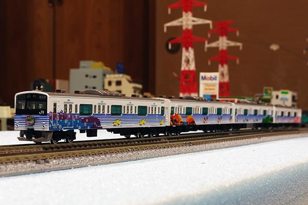 [★ 鉄道コレクション JR201系 四季彩 新塗装 4両セット ]