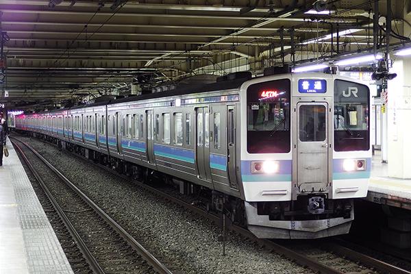 211系2000番台 立川駅 4番線