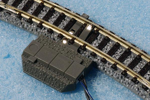 TOMIX 5558 TCS ワンタッチ装着センサー (グレー)