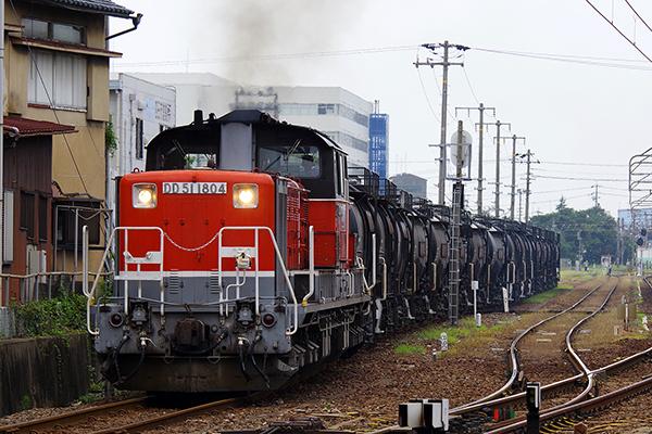 セメント返空 5362レ 四日市駅 DD51-1804