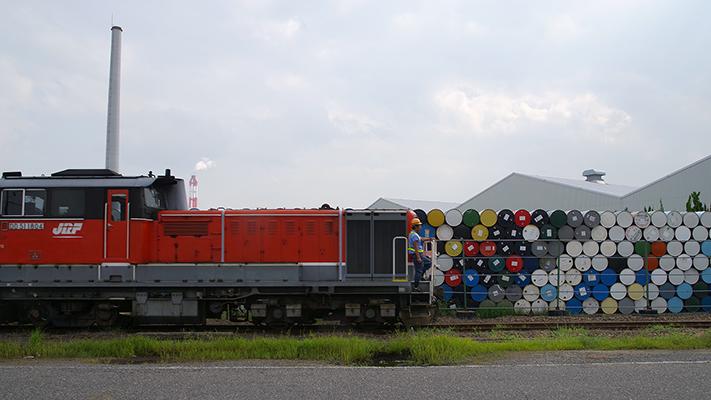 通称四日市港線を行く DD51-1804