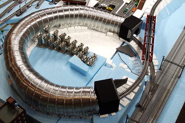 アルミフレキシブルダクトを使ったトンネルの作成