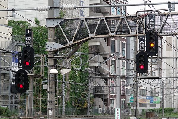 縮小立川駅レイアウト 八王子方を望む