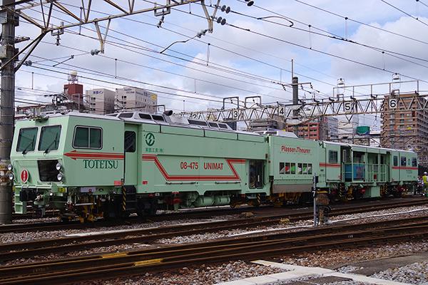 Plasser & Theurer の 08-475 (マルチプルタイタンパー) (高崎鉄道ふれあいデー)