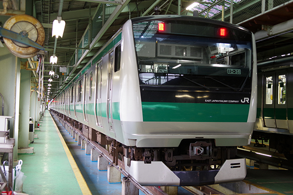 E233系7000番台 (川越車両センター)