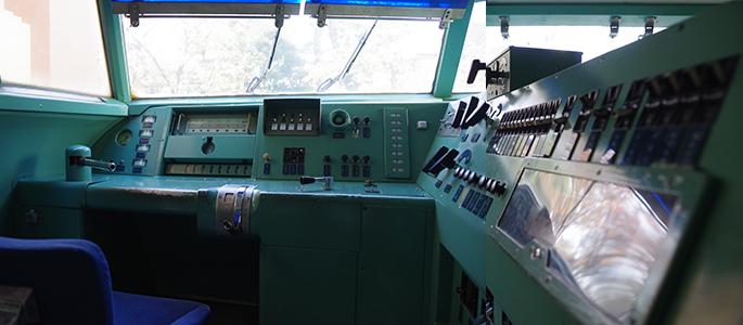 951形試験車両 951-1 運転席 国分寺市ひかりプラザ新幹線資料館