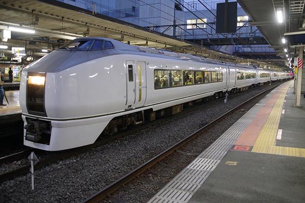 651系 9834M ぶらり高尾散策号 (立川駅 3番線)
