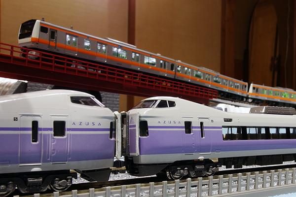 KATO 10-358 E351系スーパーあずさ 8両基本セット・KATO 10-359 E351系 スーパーあずさ 4両増結セット