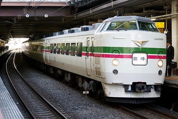 189系 豊田車両センター M52編成 (立川駅 4番線)