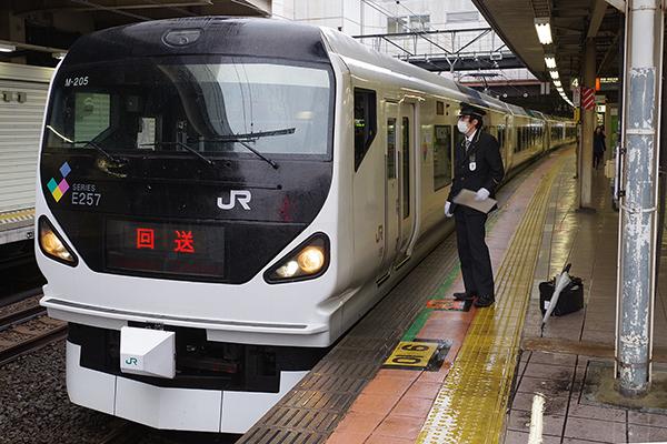 E257系0番台 (立川駅 4番線)