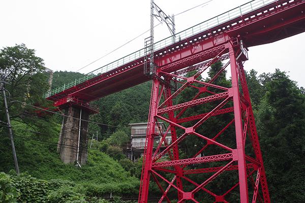 青梅線 軍畑鉄橋 (奥沢橋梁)
