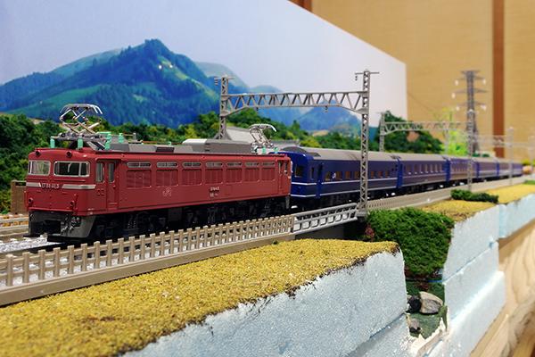 KATO 3066-5 EF81 400 JR九州仕様+TOMIX 98626 JR 14系15形特急寝台客車 (富士/はやぶさ) セット