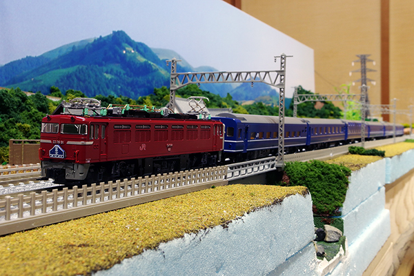 KATO 3013-2 ED76 0 後期形 JR九州仕様+TOMIX 98626 JR 14系15形特急寝台客車 (富士/はやぶさ) セット