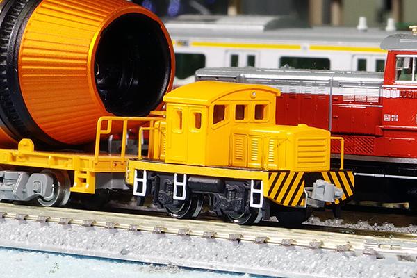 ワールド工芸 プラシリーズ Nゲージ 貨車移動機 半キャブ (オレンジ) 塗装済完成品