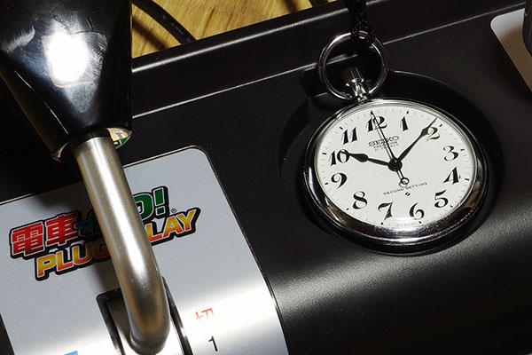 電車でGO! PLUG & PLAY・19セイコー (19型鉄道時計)