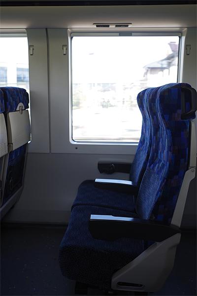 クハ E257-500 1番A・B 席