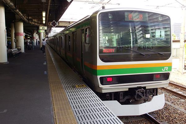 E231系 国府津車両センター K40編成 (宇都宮駅)