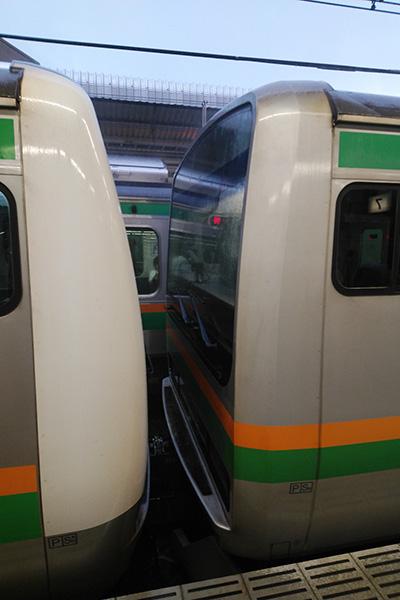 E233系3000番台+E231系併結 (宇都宮駅)