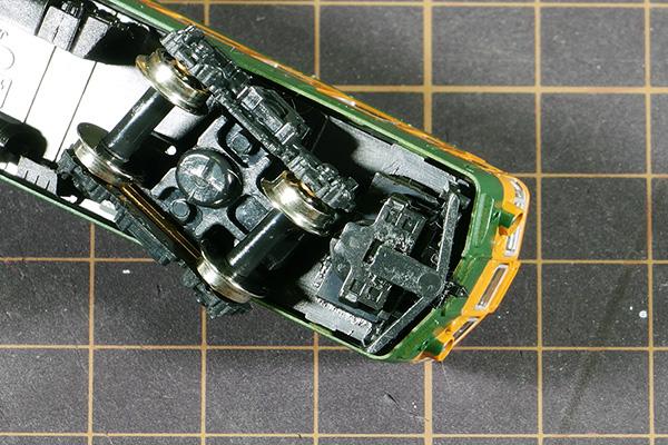 KATO 4054-5 クハ165-136 740681C3 クモハ165前面用 カプラーセットに改造