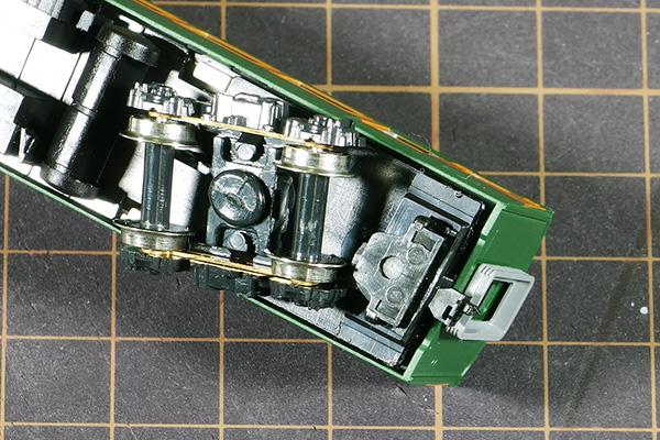 KATO 4054-5 クハ165-136 KATO 740691C3 モハ164 (M) カプラーセットに改造