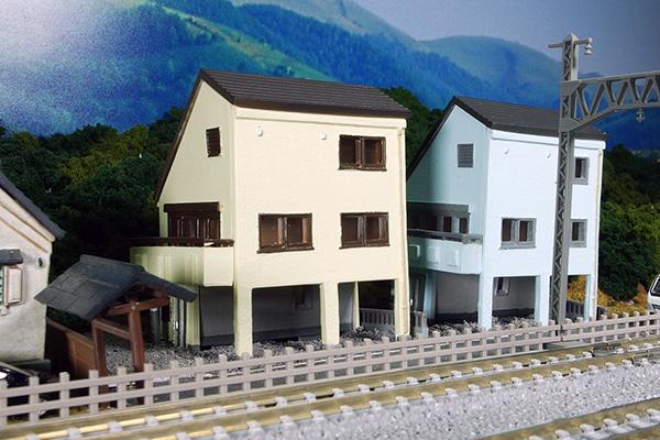 ジオコレ 建物コレクション 016-4 狭小住宅 A-4