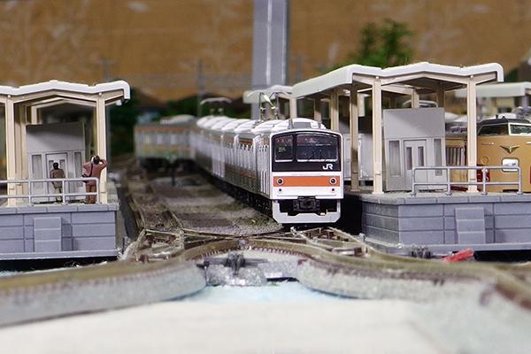 KATO 10-1498 205系5000番台 武蔵野線(サハ205 ドア大窓) 8両セット