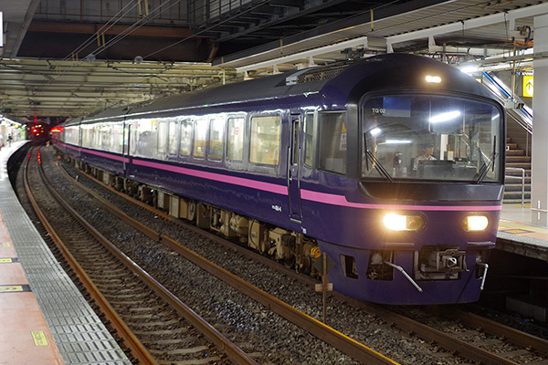 9352M お座敷青梅 奥多摩号 立川駅 4番線