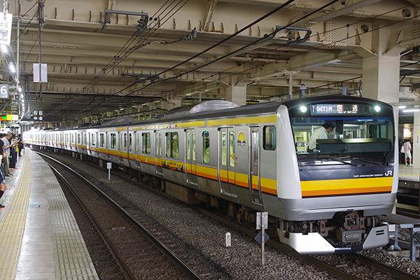 中原電車区 N36 編成 立川駅待避線