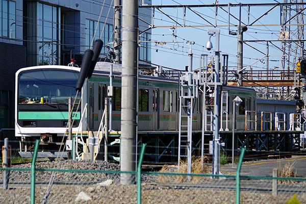 209系改造訓練車 東京・大宮総合訓練センター「青葉駅」