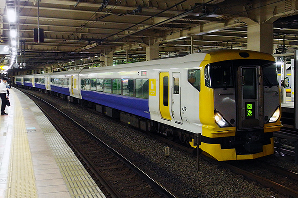 E257系500番台 (立川駅 待避線)