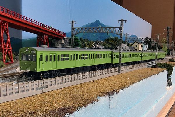 KATO 10-363 103系 一般形ウグイス 4両セット