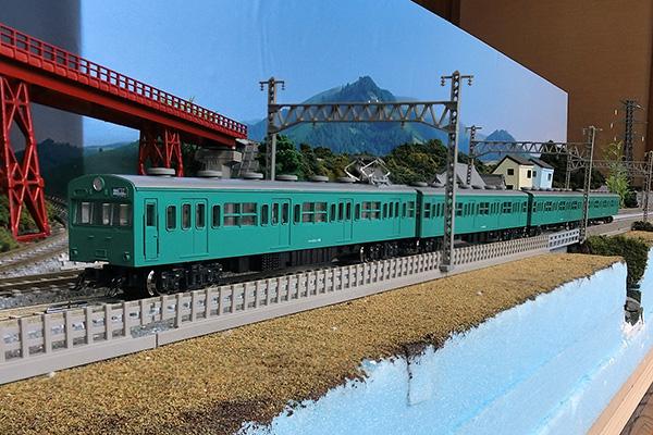 KATO 10-365 103系 一般形エメラルドグリーン 4両セット