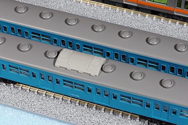 GREENMAX 8062 AU75 クーラー装着 KATO 10-361 103系 一般形ブルー