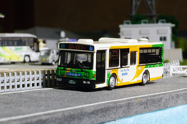 京商 1/150 スケール ダイキャストバスシリーズ 路線バス[2] 日産ディーゼル UA452-KAN 都営バス