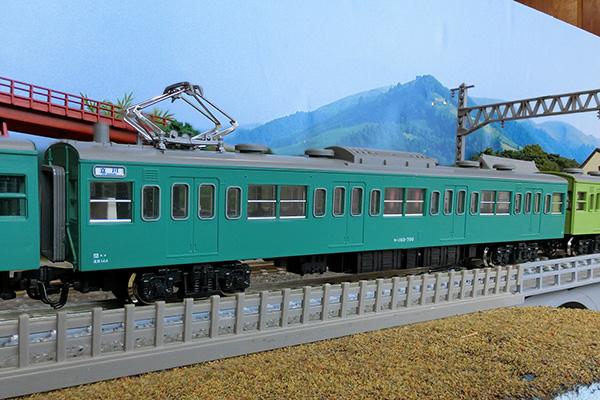 KATO 4005-5 モハ103 (エメラルドグリーン)