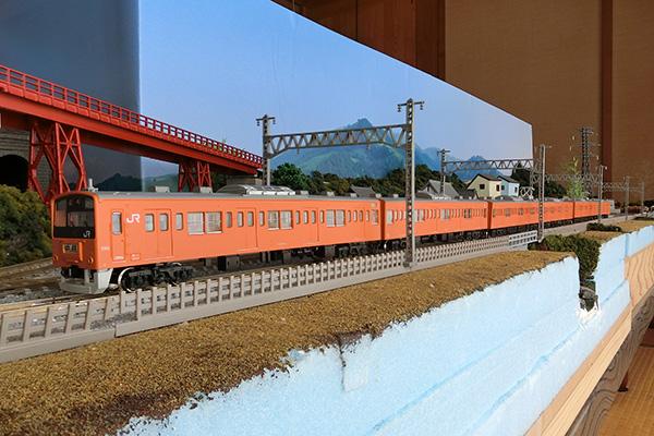 KATO 10-370 201系 直流通勤形電車 (中央線色) 6両基本セット