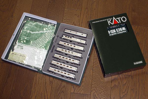 KATO 10-1336 E26系カシオペア