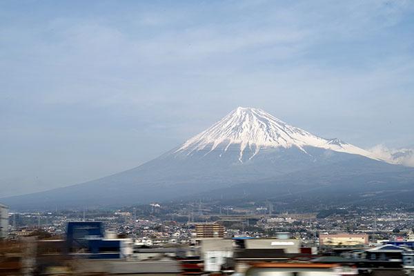 富士山 (新富士駅近辺)