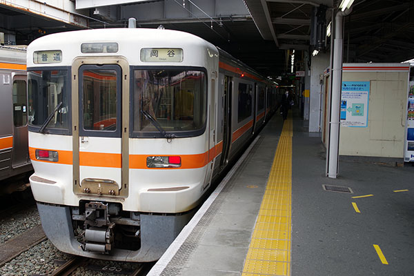 飯田線 519M (313系 R105編成) 豊橋駅