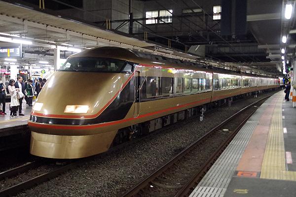 特急 スペーシア八王子日光 8271M 立川駅 3番線