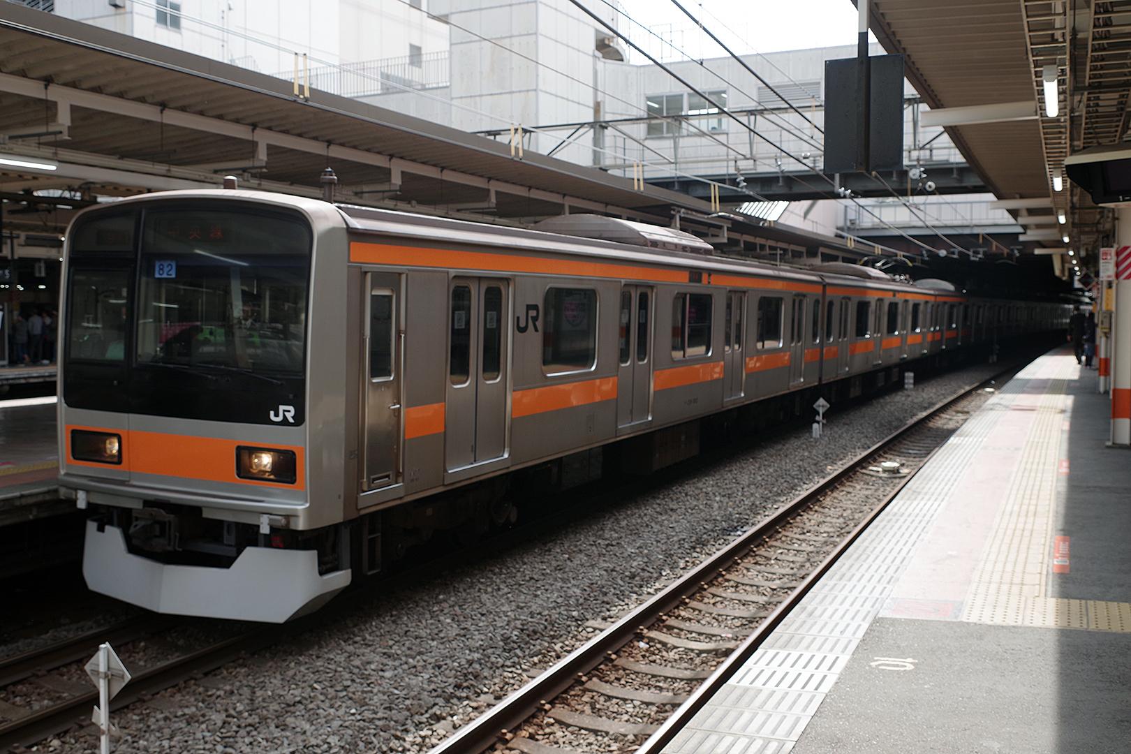 209系1000番台 八トタ82編成