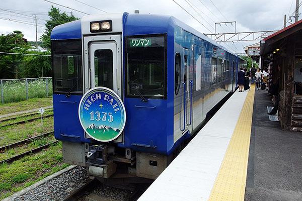 HIGH RAIL 1375 (キハ103-711・キハ112-711) 小淵沢駅