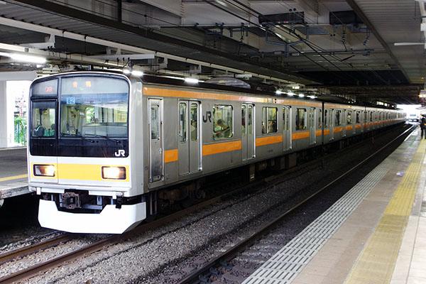 209系1000番台 (八トタ82編成_ 立川駅 2番線