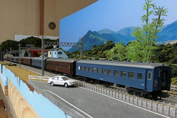 KATO 5128-2 オハフ33 ブルー 一般形